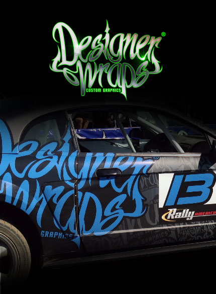 Designer Wraps Racing Livery And Custom Graphics For Race Cars From Road To Stock Car Dirt Track Rally Cross