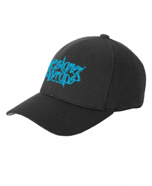 DW Black & Blue Fitted Hat