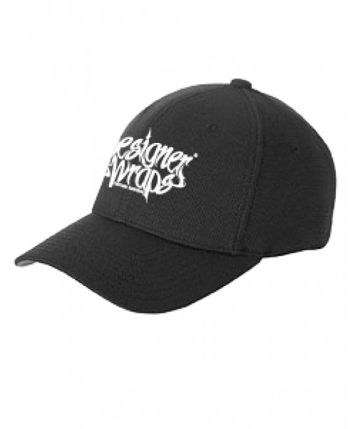DW Black & White Fitted Hat