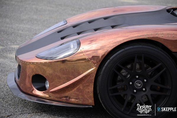Copper Factory Five GTM front side view