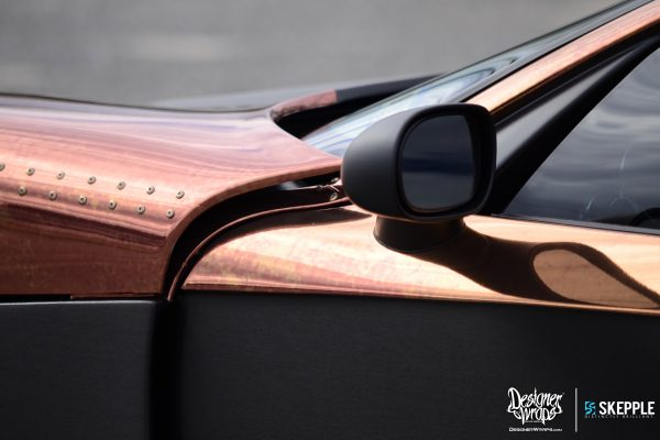 Copper Factory Five GTM side mirror