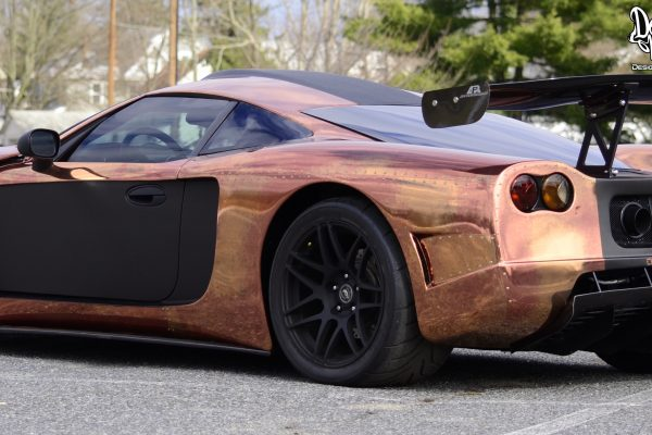 Copper Factory Five GTM left side view