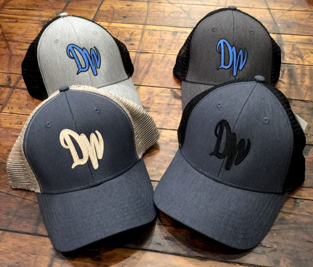 4 Designer Wraps hats