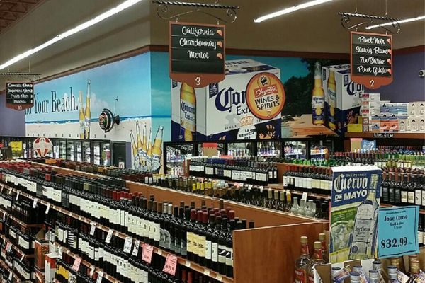 Shoprite Liquors Wall Vinyl