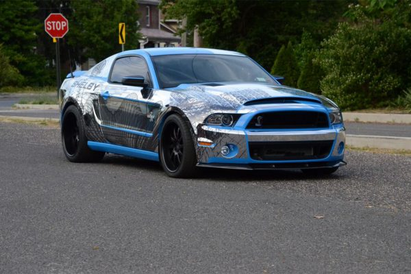 Ford Chrome Shelby 2017 Wrap Like a King Winner