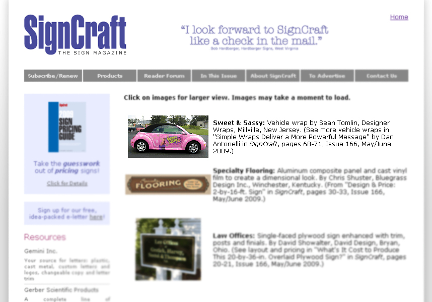Sign Craft Designer Wraps feature