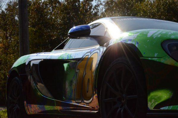 Racing Chrome McLaren