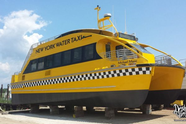 NYC Water Taxi Boat Wraps