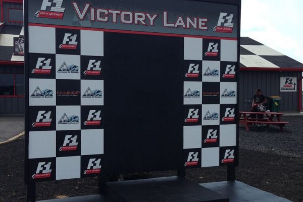 Victory Lane banner