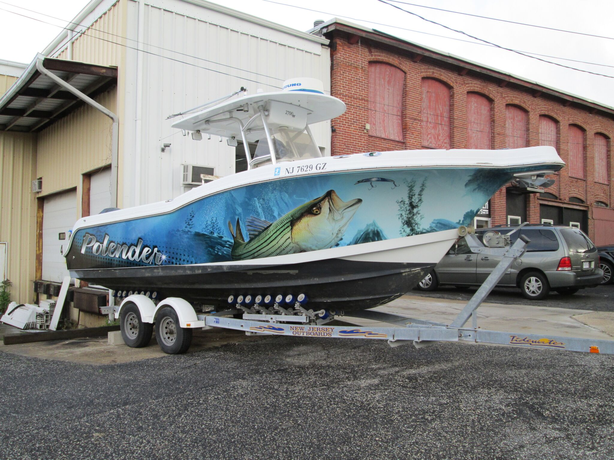 Pilander Boat Wrap