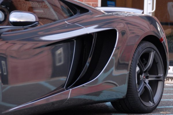 Black Chrome McLaren