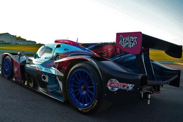Cosmic Norma Racecar Winner of Wrap Like a King 2017