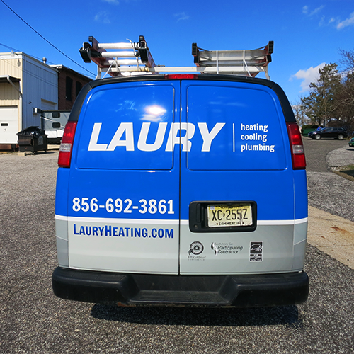 Laury Services 2016 Chevy Express Cargo Van Vehicle