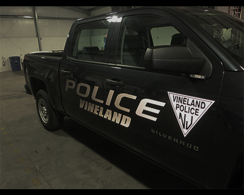 Vineland PD Chevy Silverado