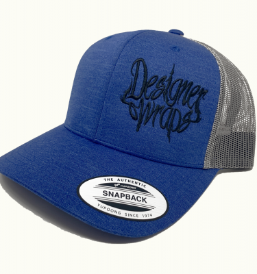 Shop Cosmic Blue and Gray Snapback